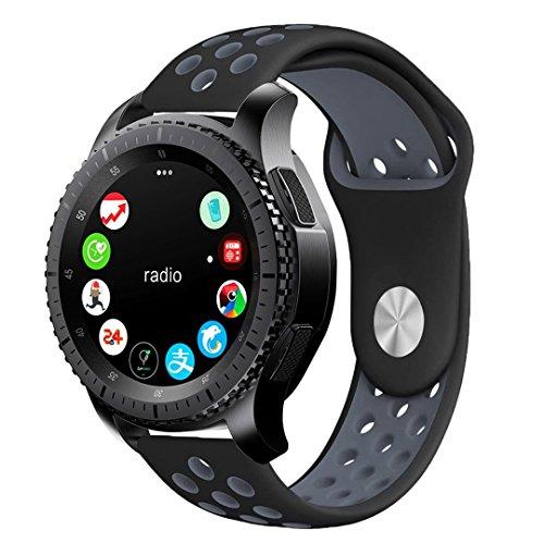 BarRan reg; Gear Sport 2017 cinturino, silicone traspirante sport fascia impermeabile alternative orologio da polso cinturino per Samsung Gear Sport 2017