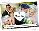 Personalised Wedding Thank You Cards WTY 15 pack of (76)