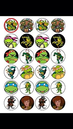 Ninja Turtles, Essbar, 24 - Turtle Ninja Hintergrund