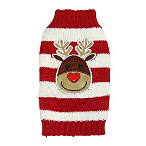 Tiny-Small-Dog-Puppy-Sweater-Christmas-Reindeer-Costume
