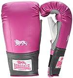 Lonsdale da Donna PRO Bag Custodia per Handschuhe, Donna, PRO Bag Tasche-handschuhe, Rosa/Grigio,...