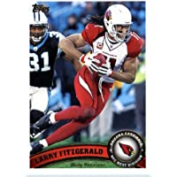 2011 Topps Football Card # 10 Larry Fitzgerald - Arizona Cardinals - NFL Trading Card