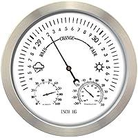 Gardman climática de analógico estación meteorológica, metal, 30x 4x 30cm, 17218