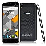 "Cubot Manito Smartphone Móvil Sin Contrato(5.0"" HD IPS Pantalla, Android 6.0,4G FDD-LTE WCDMA 3G 2G GSM,MTK6737,Quad-Core,1.3GHz,1280x 720 píxeles,720P,1.3MP 8MP Cámaras,3GB RAM 16GB ROM,Dual SIM) Negro"