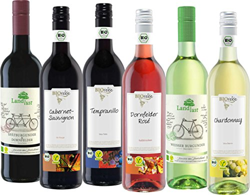 Chardonnay, Weißer Burgunder, Dornfelder Rosé, Tempranillo, Cabernet Sauvignon, Spätburgunder& Dornfelder