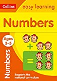 Numbers Ages 3-5: New Edition: easy early numbers activities for 3 year olds (Collins Easy Learning Preschool)