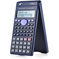 Aibecy Calculadora Científica Mostrador240 Funciones2 Line Pantalla Lcd Oficina de Negocios Estudiante Secundaria MediaSat / Ap Calcular Prueba