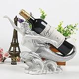 Danse casier à vin rack de résine ornement vin sirène Wine Bar Décoration porte-mouche créative du vin