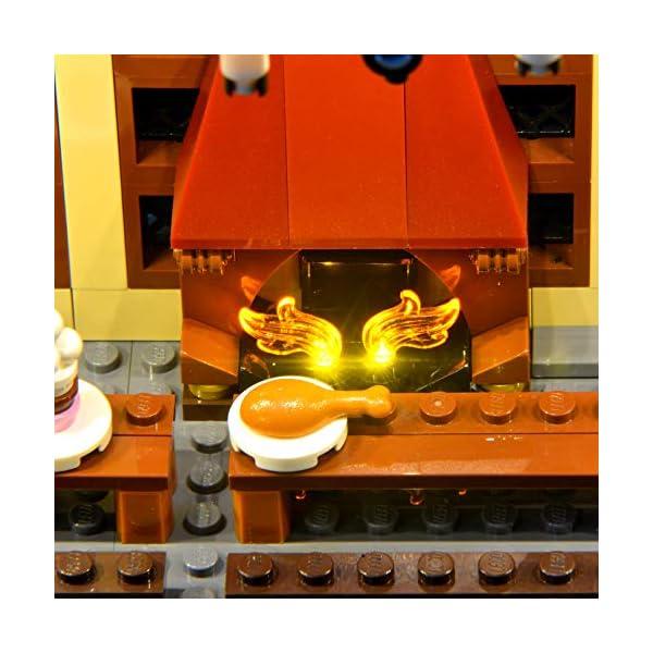 LIGHTAILING Set di Luci per (Harry Potter La Sala Grande di Hogwarts) Modello da Costruire - Kit Luce LED Compatibile… 5 spesavip
