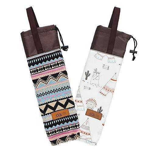 up Storage Bag Portable Hanging Bag Camping Cup Veranstalter Wasserdicht für Ihre Heimarbeit Parties Outdoors ()
