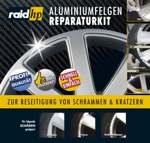 Raid-HP-340001-AluminiumfelgenAlufelgen-Reparatur-Kit-silber