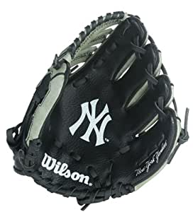 Wilson A0300 Gant de base-ball New York Yankees 25,4 cm Noir