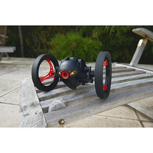 Parrot Jumping Sumo Minidrone (WiFi, Wide Angled Kamera) schwarz - 4