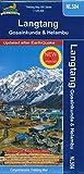 Trekking Map NL 504 Langtang, Gosaikund 1:125000