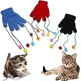 Katze Kätzchen Play Pet Handschuh Teaser Trick Spielen Fun Spielzeug Kratz Aktivität Mitt
