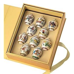 Hutschenreuther Sammelthemen 2019 Setzkasten 10 Mini-Eier Sonderedition - Limitierung: 2000 Exemplare Weltauflage