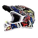 O' neal 3SRS unisex off-road-helmet-style attacco casco (nero/ad alta visibilità, taglia: XS)