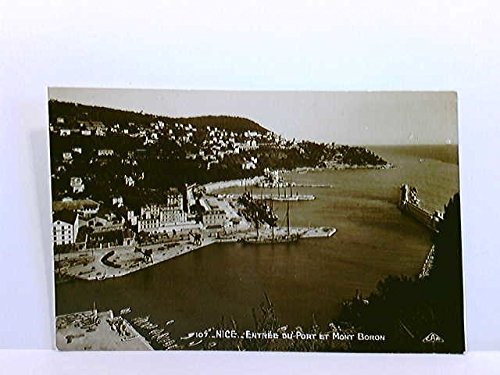 AK Nice / Nizza, Entrée du Port et Mont Boron; ungelaufen, ca. 1925
