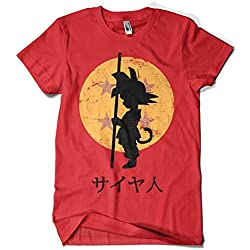 Camiseta Looking for the Dragon Balls (ddjvigo) (Roja, L)