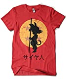 Camisetas La Colmena 164 - Looking for The Dragon Balls (ddjvigo) (Roja, L)