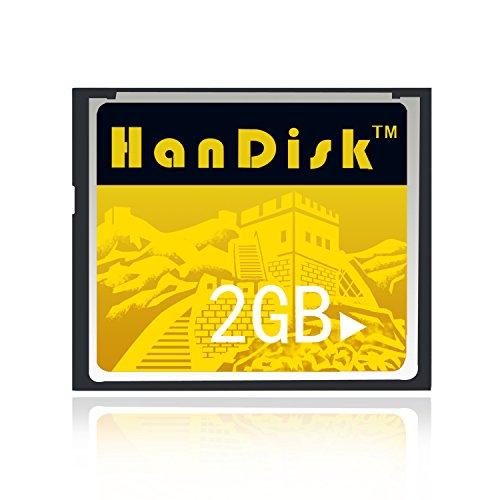 Handisk scheda cf 3anni di garanzia di sostituzione scheda di memoria cf 2gb