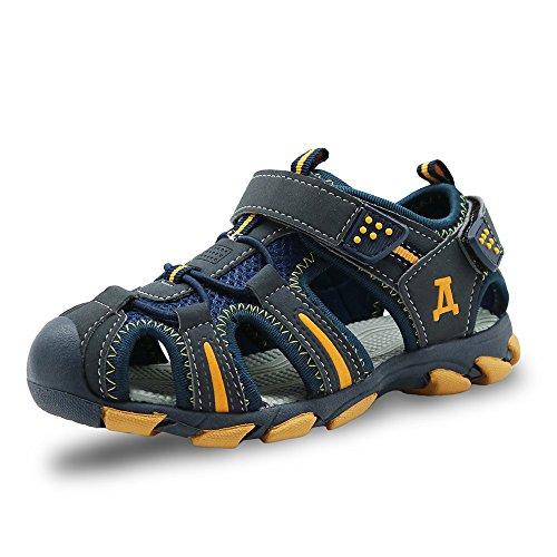 Kinder Trekkingsandalen Sport Outdoor Sandalen Sommer Strand Schuhe mit Klettverschluss für Jungen Mädchen