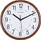 President's Black Round Wall Clock With ...