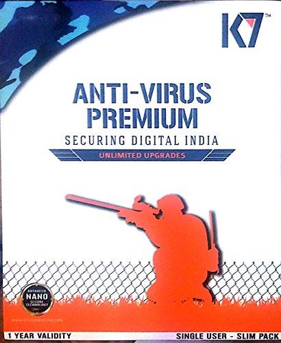 K7 Antivirus Premium- 1 User, 1 Year (CD)