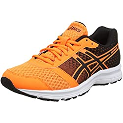 Asics Patriot 8, Zapatillas de Running Hombre, Multicolor (Hot Orange/Black/White), 43.5 EU