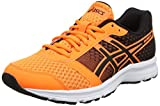 Asics Herren Patriot 8 Laufschuhe, Gelb (Hot Orange/Black/White), 43.5 EU