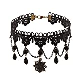 Zephyrr Fashion 90s Retro Gothic Black F...