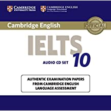 Cambridge IELTS 10 Audio CDs (2): Authentic Examination Papers from Cambridge English Language Assessment (IELTS Practice Tests) (2015-06-19)