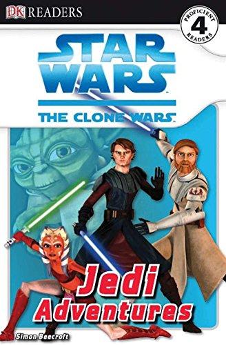 DK Readers L4: Star Wars: The Clone Wars: Jedi Adventures (Star Wars, the Clone Wars: Dk Readers, Level 4)