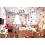 Vintage de fondos pastoral autoadhesivos papel pintado ladrillo Coreano patrón sala dormitorio dormitorio infantil dormitorios dulce flor papel tapiz impermeable metros largo y 9,5 metros de ancho y 0,53 m