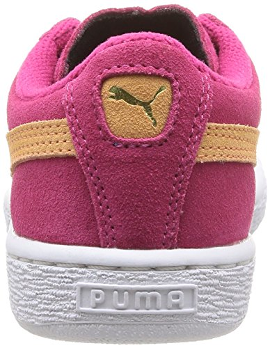 Puma 355110/38, Baskets mode mixte enfant Rose (Purple/Peach)