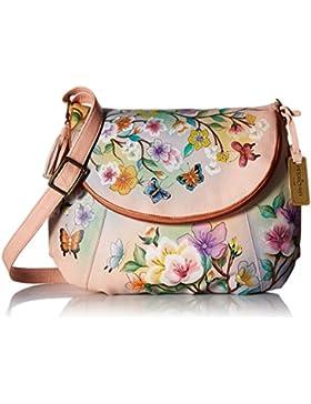 Anuschka 20% Frühlingsverkauf - handbemalte Ledertasche, Schultertasche für Damen, Geschenk für Frauen, handgefertigte...