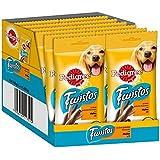 Pedigree Twistos Hundesnack mit Huhn, 12 Packungen je 8 Stück (12 x 140 g)