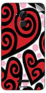 GsmKart CN3 Mobile Skin for Coolpad Note 3 (Red, Note 3-371)