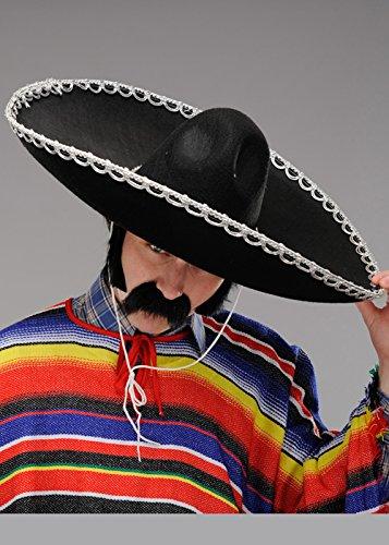 Sombrero de Sombrero de Mariachi Mexicano Mexicano de Lujo para Hombre