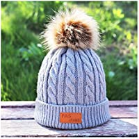HAOLIEQUAN Sombreros De Algodón De Punto E Invierno para Niños 6634d7a7742