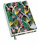 Tropical - Kalenderbuch A6 - Kalender 2019 - DuMont-Verlag - Taschenkalender mit Schulferien und Lesebändchen - 11,3 cm x 16,3 cm