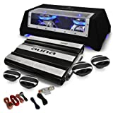 Car Hifi Set London 4.1 System 6000W Bass, Boxen, Endstufe