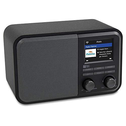 Radio Ocean digital con Internet WiFi WR-330 Radio para mesa de noche...