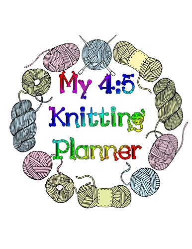 My 4:5 Knitting Planner: 100 Pages of Knitting Charts - Cap Sleeve Shrug