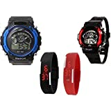 Users Sports2+ Series_2 Band N 2-7Light Digital Watch - For Boys & Girls