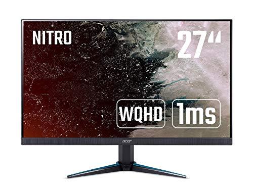 Preisvergleich Produktbild Acer Nitro VG270UP 69 cm (27 Zoll) Monitor (2x HDMI,  DisplayPort,  ZeroFrame-Design,  1ms Reaktionszeit,  144Hz,  WQHD Auflösung) schwarz (Generalüberholt)