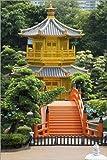 Alu Dibond 120 x 180 cm: Pavillon der absoluten Perfektion in Nan Lian Garden von Editors Choice