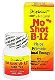 World Organics - No Shot B-12 Promote Natural Energy 1000 mcg - 100
