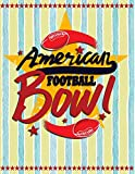 American Football Bowl: Quad Ruled 5x5 Graph Paper Notebook (5 squares per inch) - Large 8.5