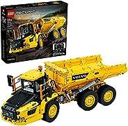 LEGO 42114 Technic Control+ Knickgelenkter Volvo-Dumper (6x6) Baufahrzeug, App-gesteuertes Konstruktionsspielz